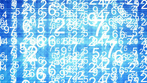 Stock Market numbers animation Stock Video Footage