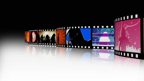 Entertainment Movie Film Strip 2 Animation