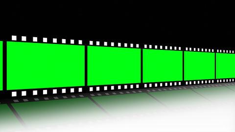 Film strip in Motion Footage