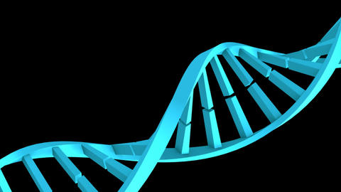 DNA Strand in High Definition Footage
