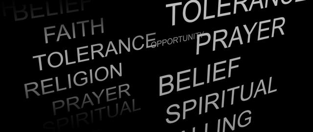 Religious Belief animation Stock Video Footage