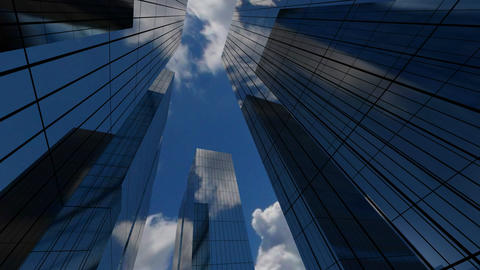 Corporate Building Stock Video Footage