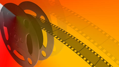 Film Reel Moving stock footage
