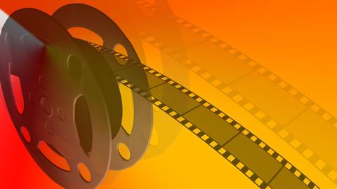Film Reel Moving Footage