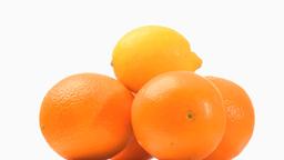 Pyramid of oranges 5 Footage