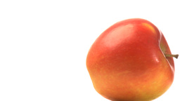 One red apple Stock Video Footage