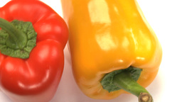 Two peppers Stock Video Footage