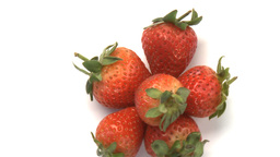 cluster of strawberries Live Action