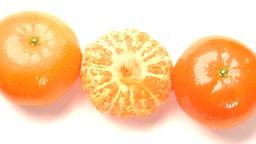 three oranges Stock Video Footage