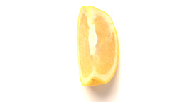 piece of orange Footage
