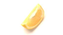 piece of orange Stock Video Footage