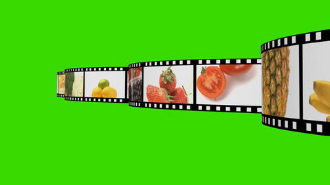 Food Montage Stock Video Footage
