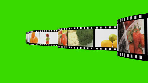 Food Montage Animation