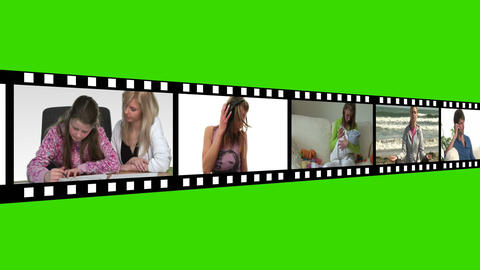 Montage of Lifestyle Footage Animation