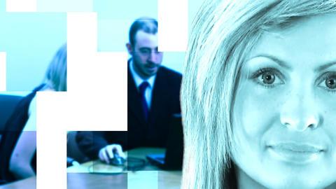 Female Business leader Animation