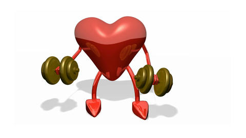 Healthy heart Animation