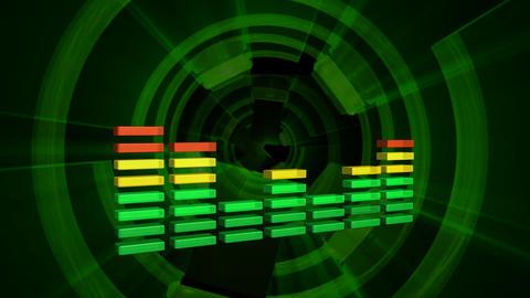 Music waveform Footage