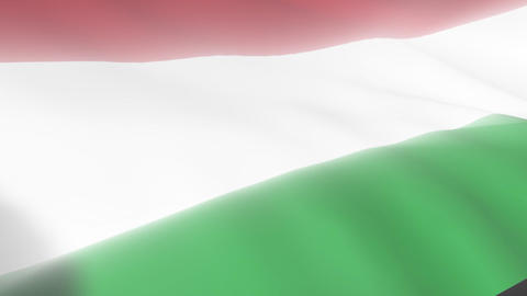 Hungarian Flag Animation