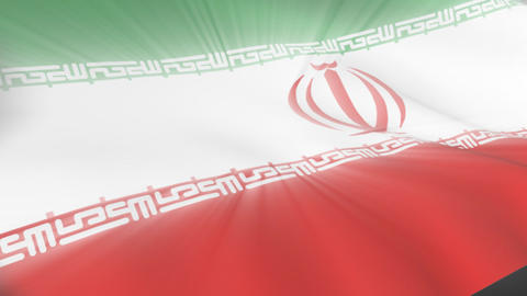 Iranian Flag Animation