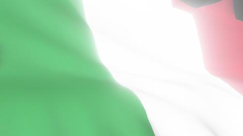Italian Flag Stock Video Footage