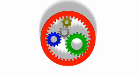 Cogs and gears Animation