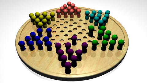 Chinese Checkers Footage