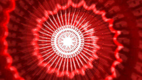 3d red Motion Background Animation