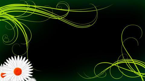 Floral 3d Background Animation