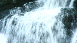 Beautiful waterfall Stock Video Footage