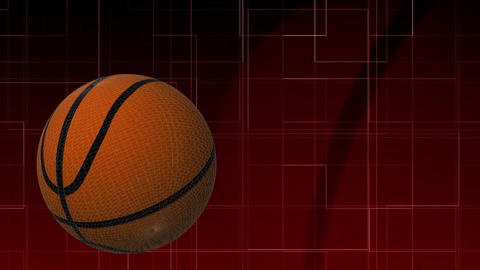 3d Basketball in HD Footage