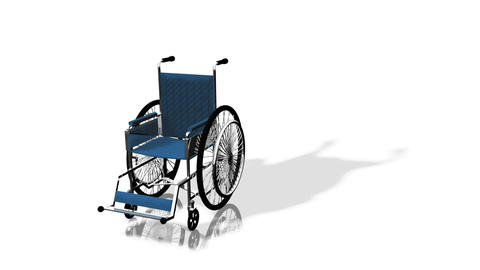 3d Wheel Chair Footage