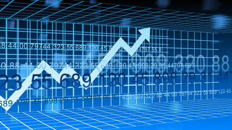 World Stock Market Animation stock footage