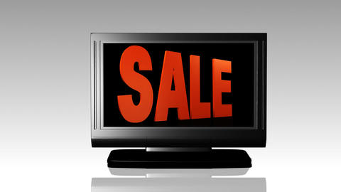 Sale Promotion sign Stock Video Footage