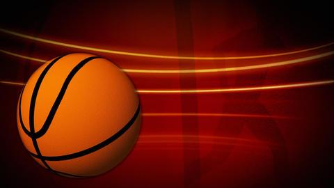 Spinning basketball animation Animation