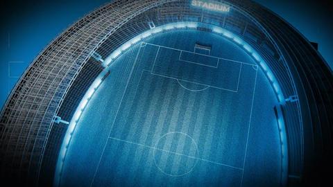 Stadium Animation Stock Video Footage