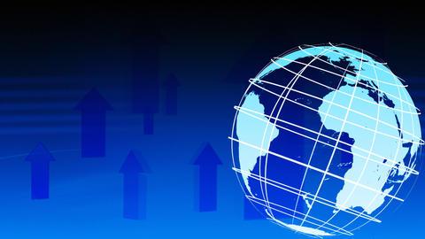 3d Rotating Globe Stock Video Footage
