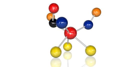 Animation of molecules Animation