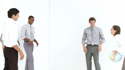 Business Team working in office Stock Video Footage