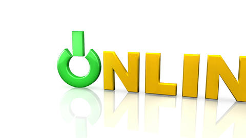 3d Online Symbol Footage