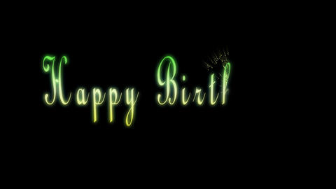 Happy Birthday animation Animation
