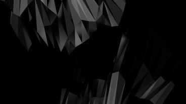 4k Abstract Glass Crystalline Crystal,hard Gemston stock footage