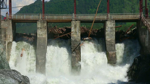 Chemal dam Footage