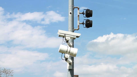 1564 Police Speed and Surveillance Cameras Footage