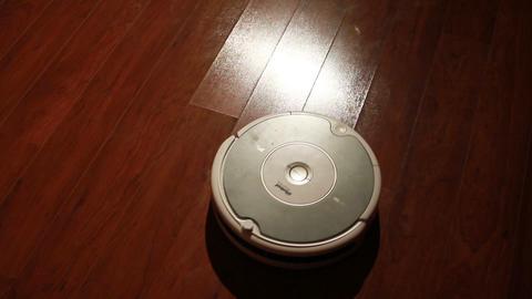 Robot Vacuum Stock Video Footage
