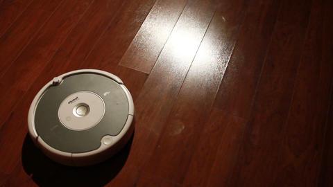 Robot Vacuum stock footage