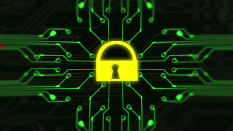 1661 Cyber Security Hacked, 4K Stock Video Footage
