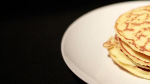 Pancakes Stock Video Footage