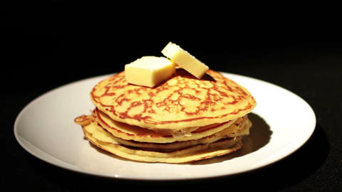 Pancakes Stock Video Footage