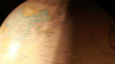 1312 Artistic Globe , All Over the World Stock Video Footage