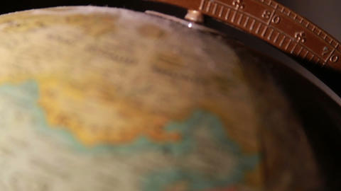 1326 Artistic Globe , All Over the World Stock Video Footage
